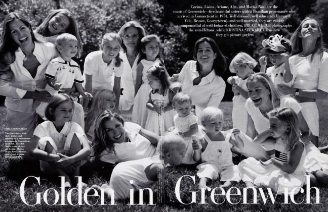 Article Preview: Golden in Greenwich, October 2002 2002 | Vanity Fair
