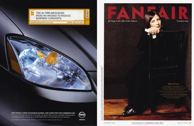 Article Preview: FANFAIR, October 2002 2002 | Vanity Fair