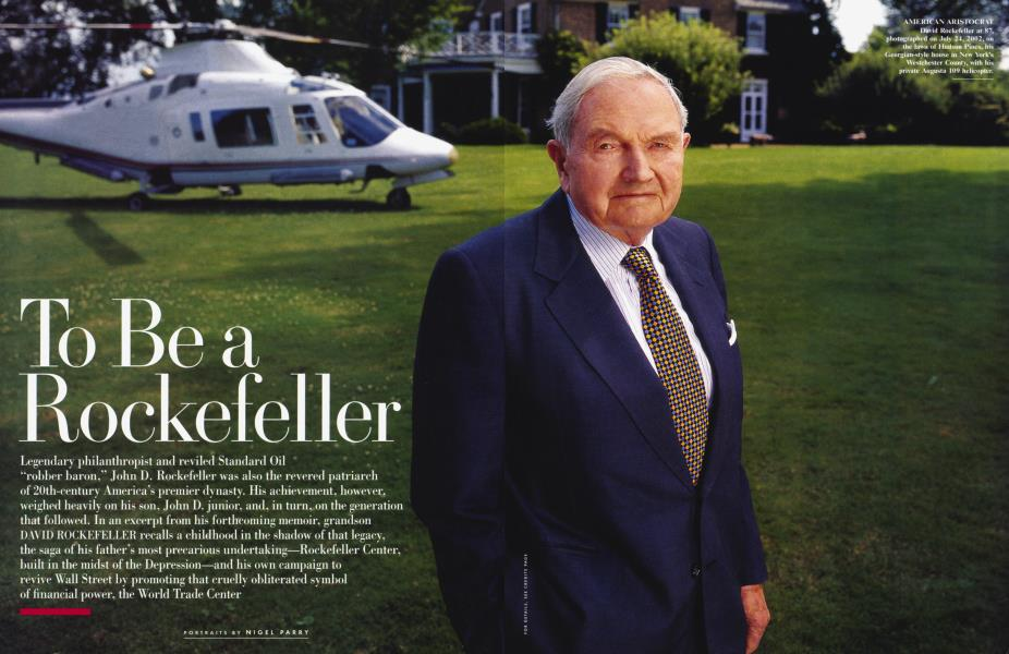 To Be a Rockefeller
