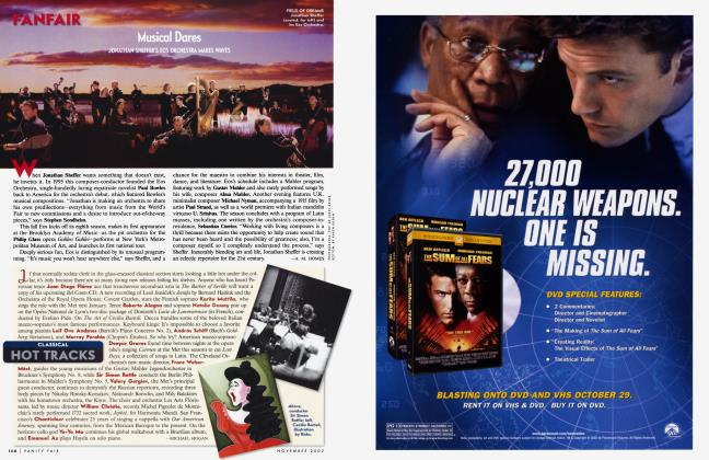 Article Preview: CLASSICAL HOT TRACKS, November 2002 2002   Vanity Fair