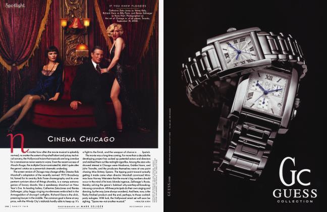 Article Preview: CINEMA CHICAGO, December 2002 2002 | Vanity Fair