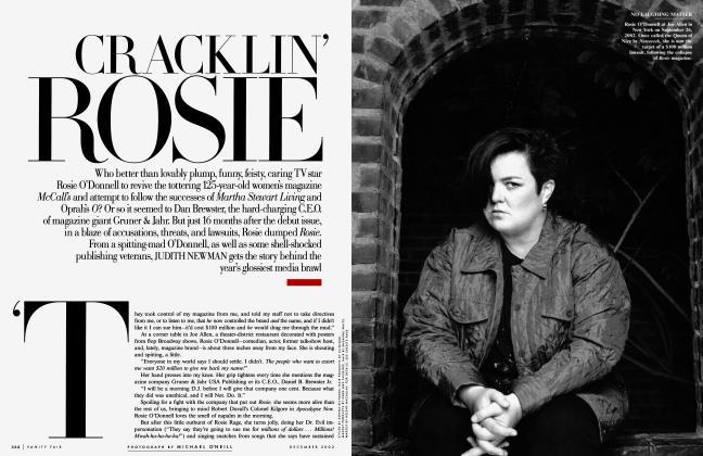 Article Preview: CRACKLIN' ROSIE, December 2002 2002   Vanity Fair