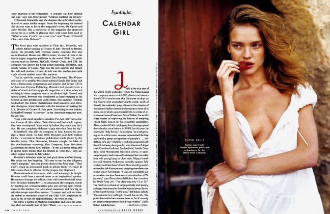 Article Preview: CALENDAR GIRL, December 2002 2002 | Vanity Fair