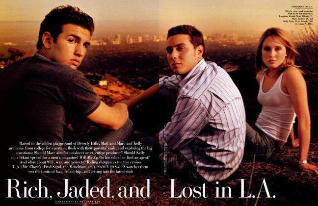 Article Preview: Rich, Jaded, and Lost in L.A., December 2002 | Vanity Fair