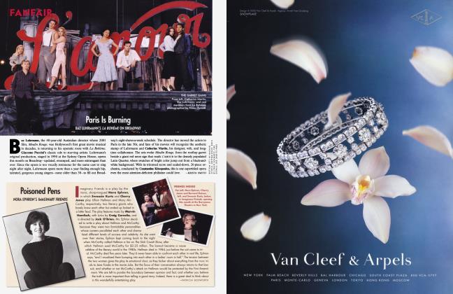 Article Preview: Paris Is Burning, December 2002 2002 | Vanity Fair