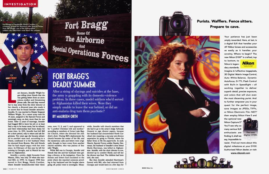 FORT BRAGG'S DEADLY SUMMER