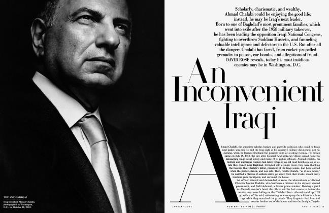 Article Preview: An Inconvenient Iraqi, January 2003 2003 | Vanity Fair