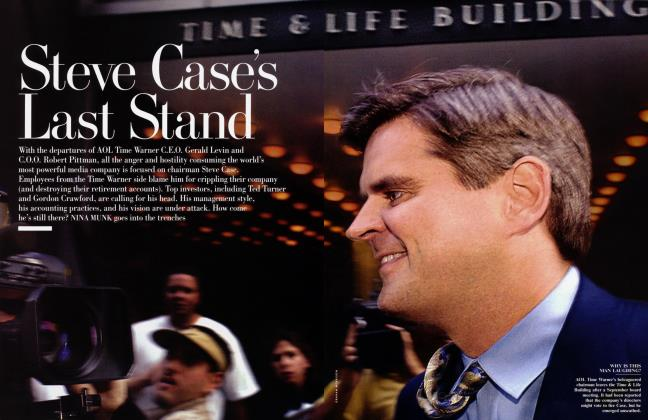 Article Preview: Steve Case's Last Stand, January 2003   Vanity Fair