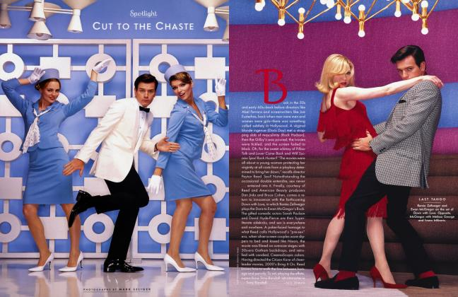 Article Preview: CUT TO THE CHASTE, January 2003 2003 | Vanity Fair