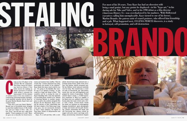 Article Preview: STEALING BRANDO, January 2003   Vanity Fair