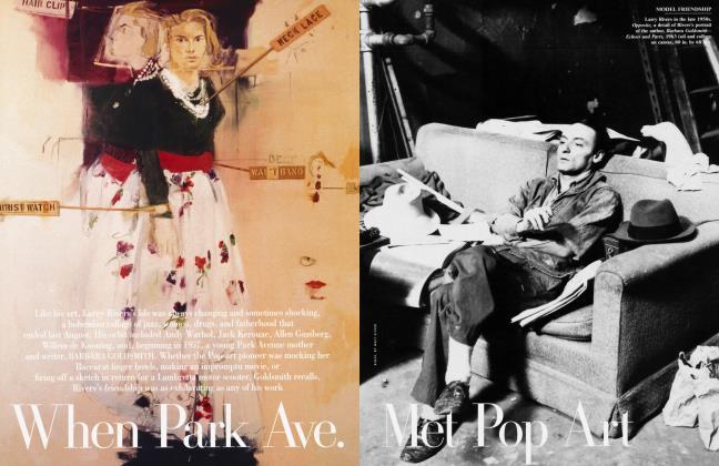 Article Preview: When Park Ave. Met Pop Art, January 2003 2003 | Vanity Fair