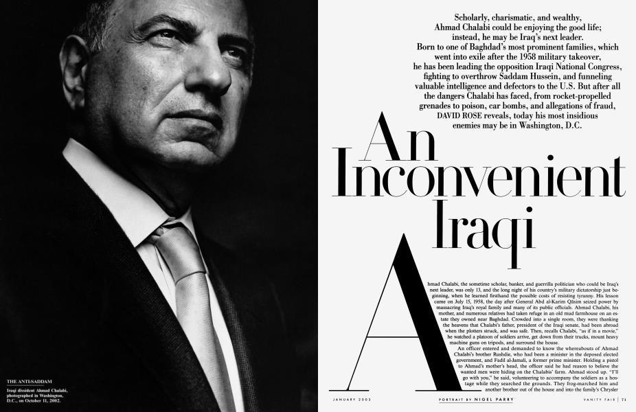 An Inconvenient Iraqi