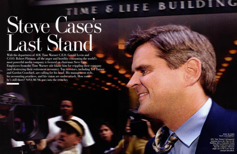 Steve Case's Last Stand