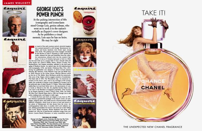 Article Preview: GEORGE LOIS'S POWER PUNCH, February 2003 2003   Vanity Fair