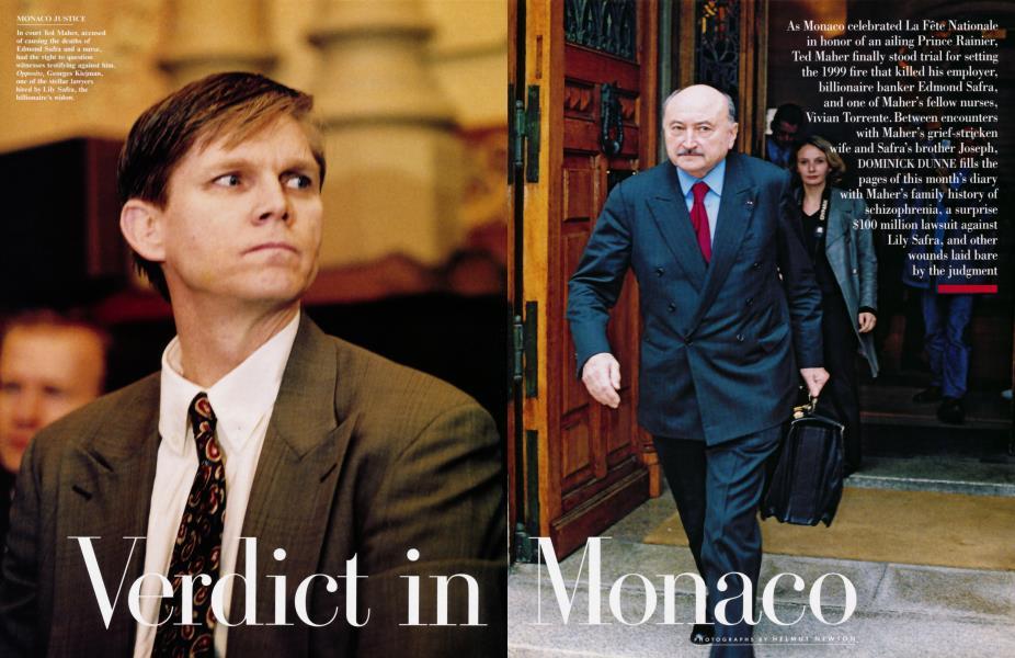 Verdict in Monaco