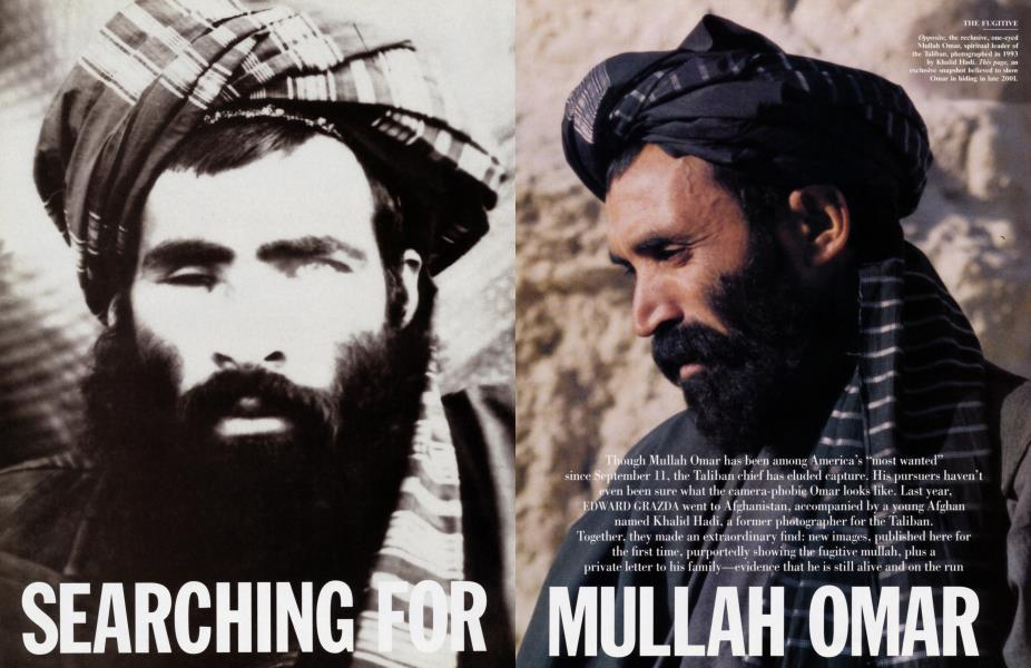 SEACHING FOR MULLAH OMAR