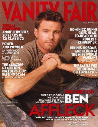 March 2003 | Vanity Fair