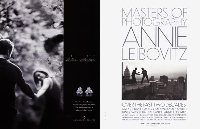 Article Preview: MASTERS OF PHOTOGRAPHY: ANNIE LEIBOVITZ, March 2003 2003 | Vanity Fair
