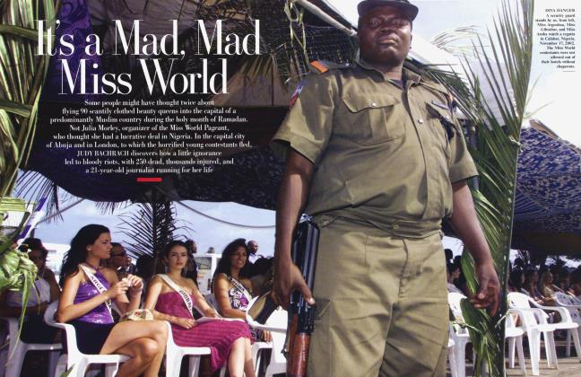 Article Preview: It's a Mad, Mad Miss World, March 2003 | Vanity Fair