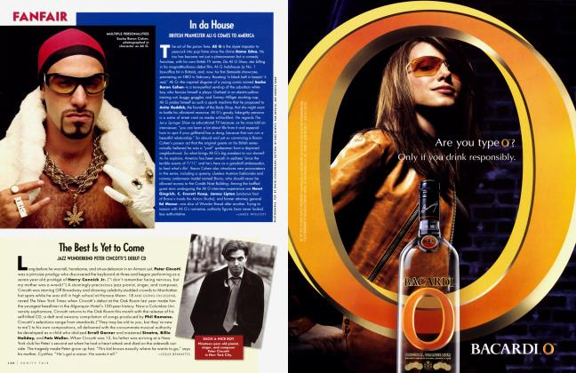 Article Preview: The Best Is Yet to Come, March 2003 2003   Vanity Fair