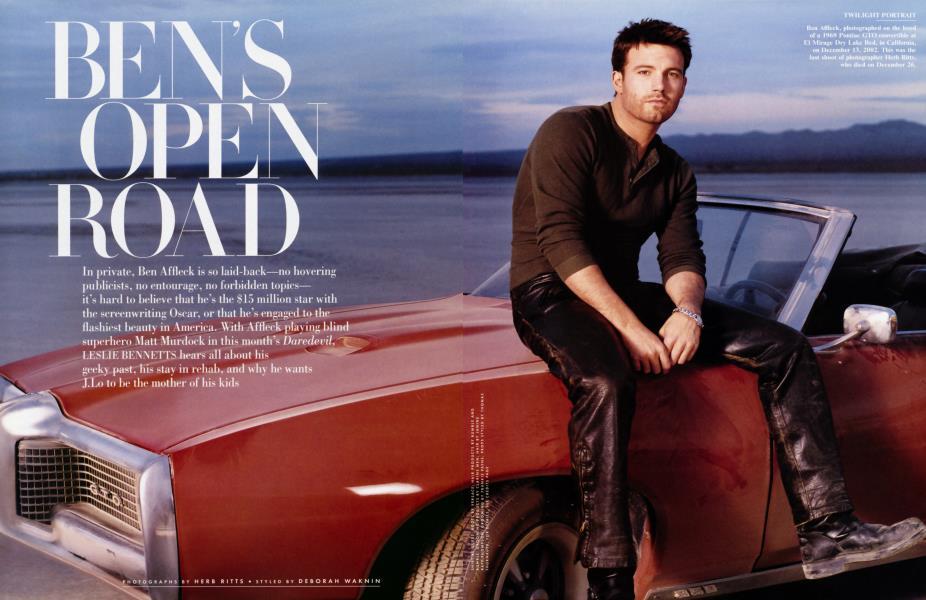 BEN'S OPEN ROAD