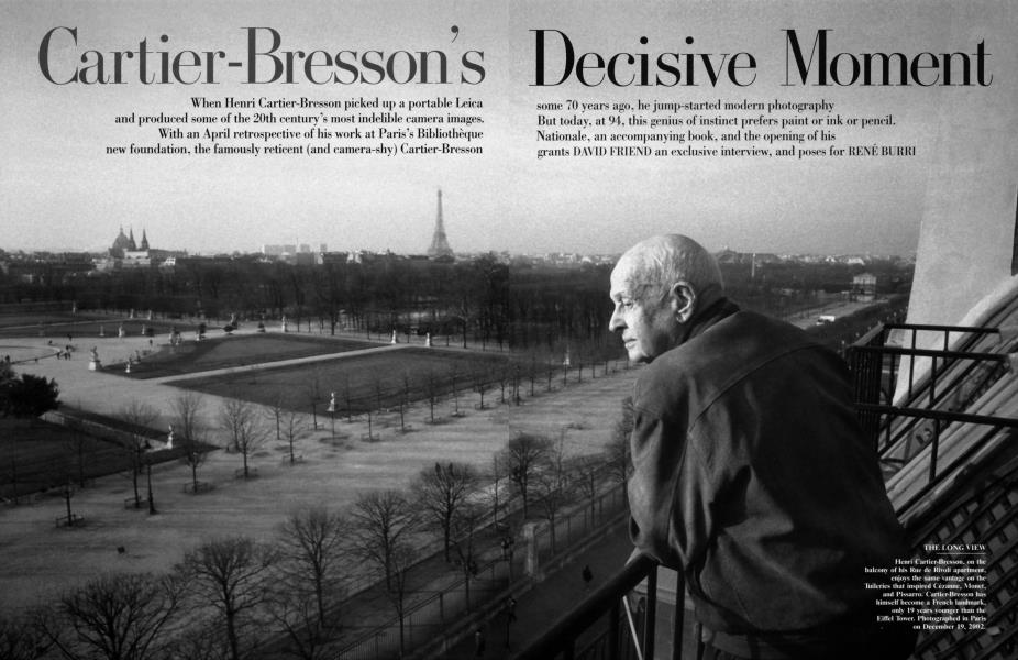 Cartier-Bresson's Decisive Moment
