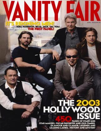 April 2003 | Vanity Fair