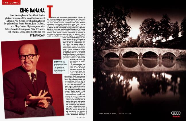 Article Preview: KING BANANA, April 2003 2003 | Vanity Fair