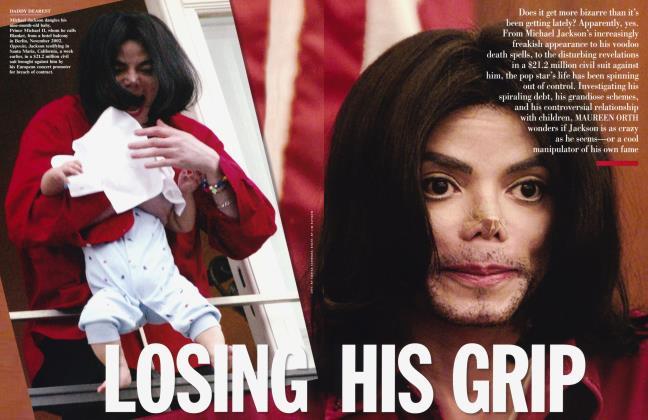Article Preview: LOSING HIS GRIP, April 2003 2003 | Vanity Fair