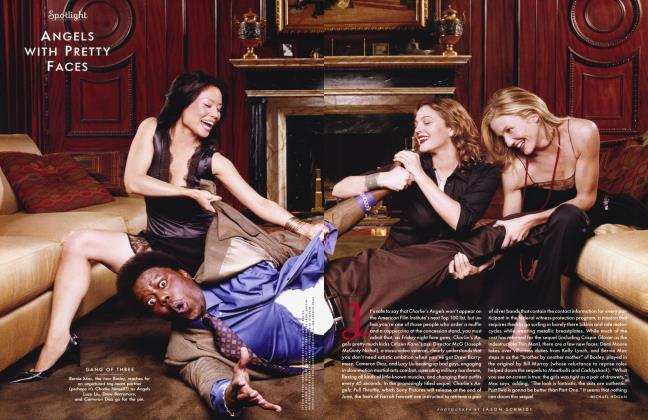Article Preview: ANGELS WITH PRETTY FACES, April 2003 2003   Vanity Fair