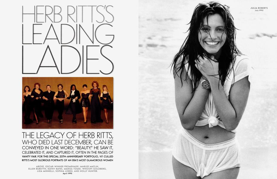 HERB RITTS'S LEADING LADIES