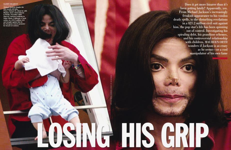 LOSING HIS GRIP