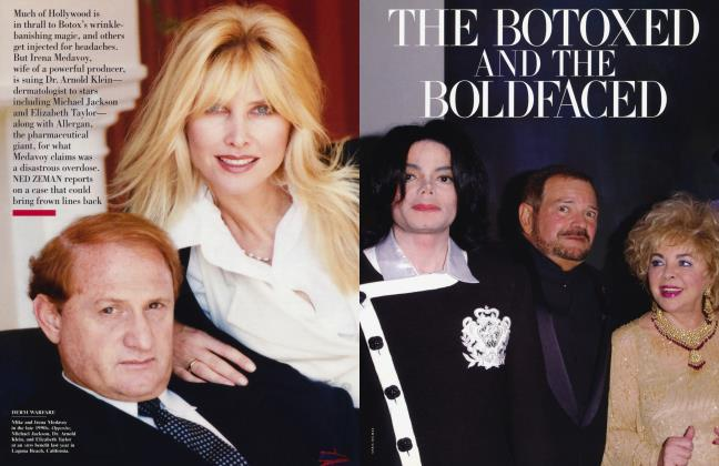 Article Preview: THE BOTOXED AND THE BOLDFACED, May 2003 2003 | Vanity Fair