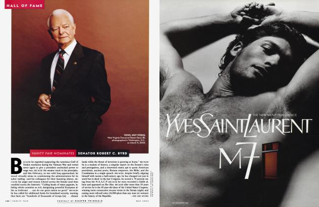 Article Preview: VANITY FAIR NOMINATES SENATOR ROBERT C. BYRD, May 2003 2003 | Vanity Fair