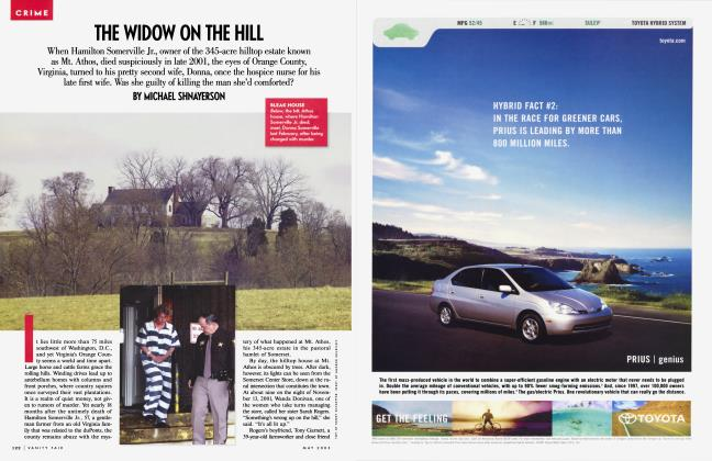 Article Preview: THE WIDOW ON THE HILL, May 2003 2003   Vanity Fair