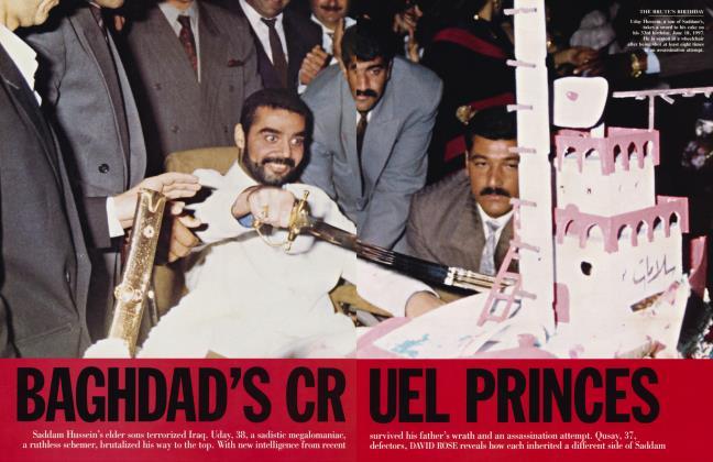 Article Preview: BAGHDAD'S CRUEL PRINCES, May 2003 2003 | Vanity Fair
