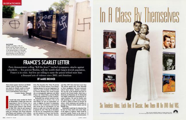 Article Preview: FRANCE'S SCARLET LETTER, June 2003 2003 | Vanity Fair