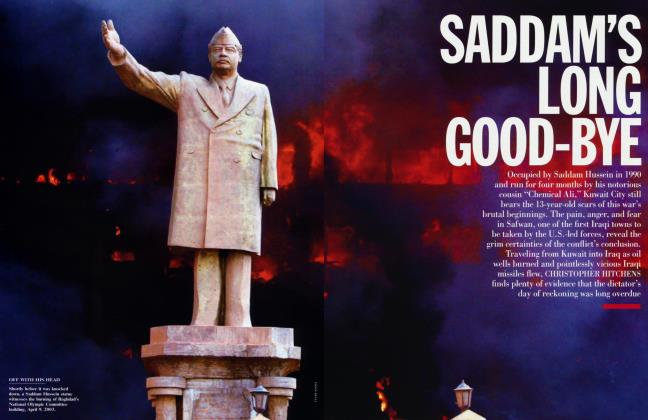 Article Preview: SADDAM'S LONG GOOD-BYE, June 2003 2003 | Vanity Fair