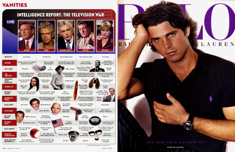 INTELLIGENCE REPORT: THE TELEVISION WAR