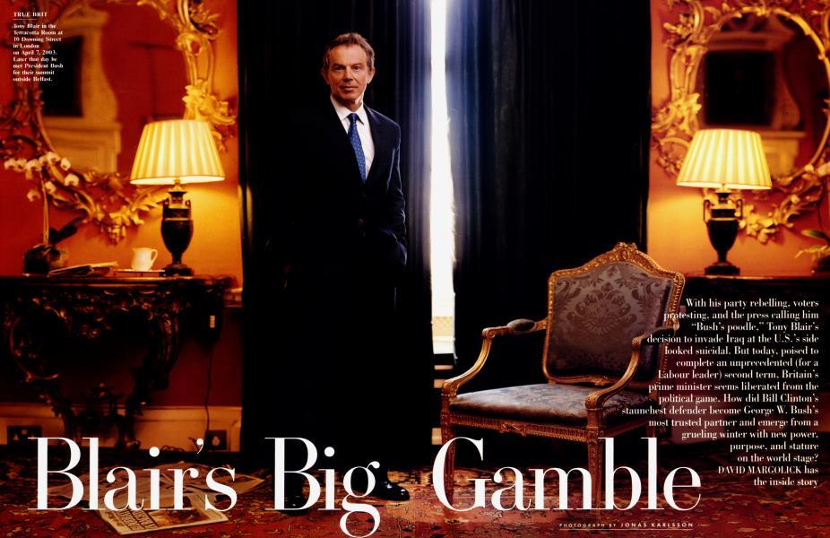 Blair's Big Gamble