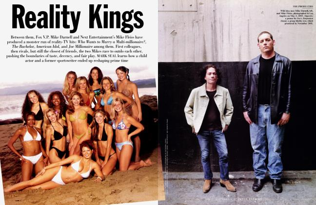 Article Preview: Reality Kings, JULY 2003 2003 | Vanity Fair
