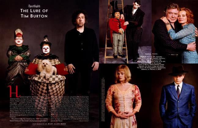 Article Preview: THE LURE OF TIM BURTON, JULY 2003 2003 | Vanity Fair