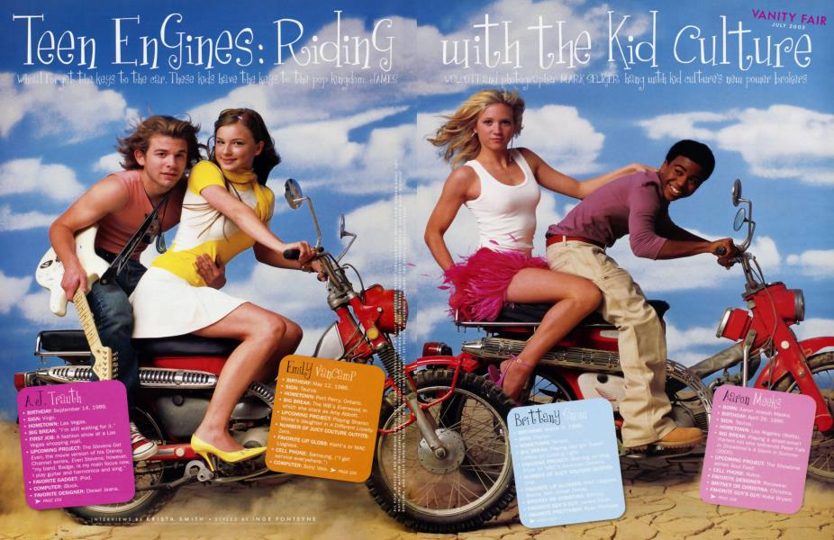 Teen Engines: Riding with the Kid Culture