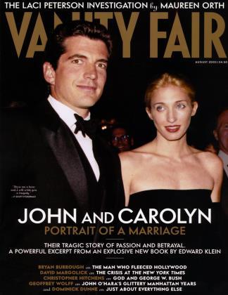 August 2003 | Vanity Fair