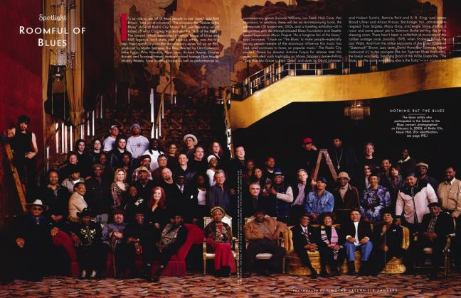 Article Preview: ROOMFUL OF BLUES, August 2003 2003 | Vanity Fair