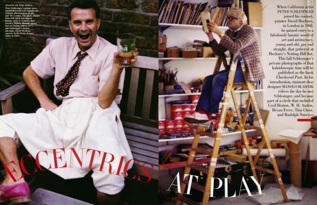 Article Preview: ECCENTRICS AT PLAY, August 2003 2003 | Vanity Fair