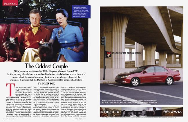 Article Preview: The Oddest Couple, September 2003 2003 | Vanity Fair