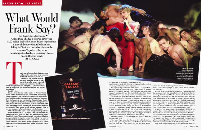 Article Preview: What Would Frank Say?, October 2003 2003 | Vanity Fair