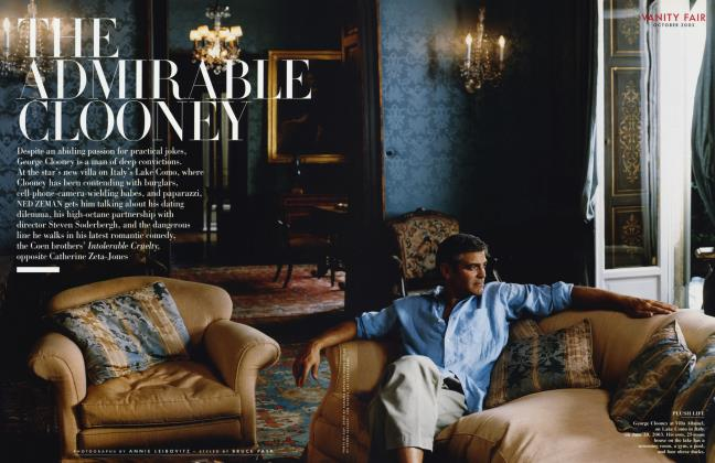 THE ADMIRABLE CLOONEY