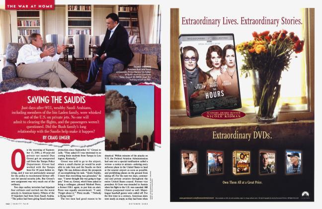 Article Preview: SAVING THE SAUDIS, October 2003 2003 | Vanity Fair